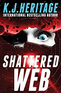 Shattered Web: (Vatic Cyberpunk Detective Mystery Series Book 2)