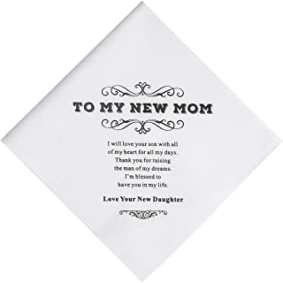 mom handkerchief wedding gift