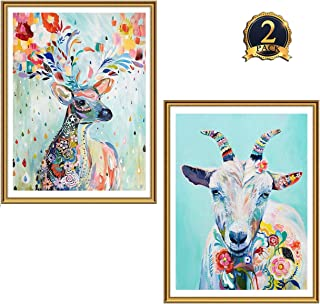 girl and the goat painting