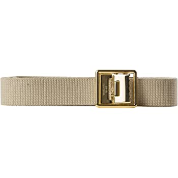 US Marine Corps Web Belt w// 24k Buckle