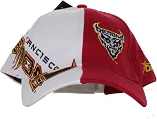 XFL - San Francisco Demons - Vintage Text and Logo on Two Tone Adjustable Hat Black