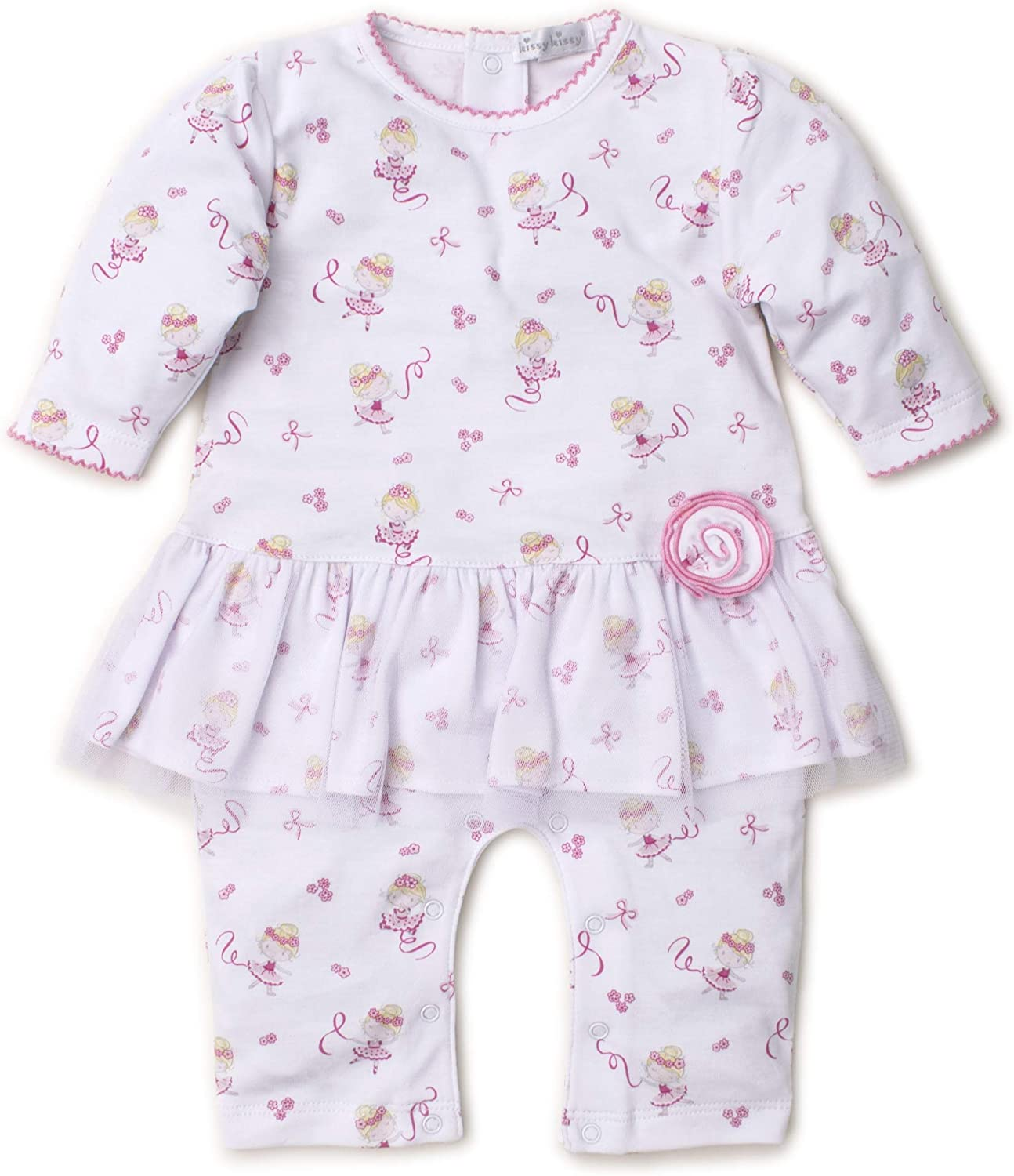Discount mail order Kissy Baby-Girls Infant Twirly Print Playsuit Toes Over item handling ☆