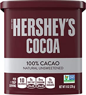 Hershey's Cocoa Powder - 100% Cacao Natural Unsweetened 226g (Imported)