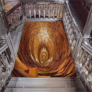 Papel Pintado Fresco Personalizado Cualquier Tamaño 3D Escaleras De Alta Gravedad Pozo Tridimensional Pintura De Azulejos De Piso Pvc Autoadhesivo