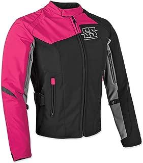 Speed & Strength Women's Backlash Textile Jacket (Medium) (Pink)