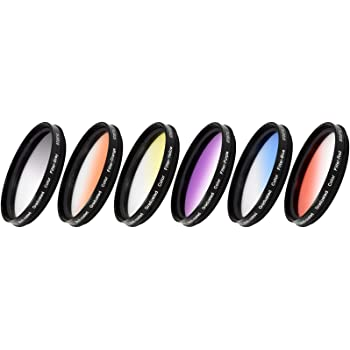 Dhd Digital Marcas 67mm Filtro de Graduación Color Gris Graduated