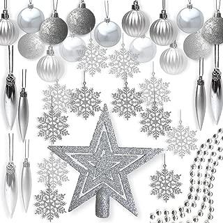 complete christmas tree decorating kit