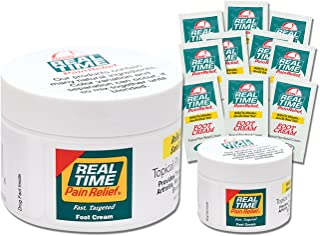 Real Time Pain Relief Foot Cream (Pack)