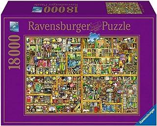Ravensburger - 17825 - Puzzle Bibliothèque Magique - Taille XXL - 18000 pièces