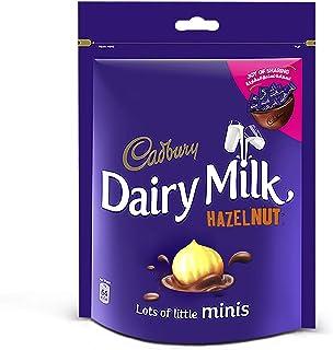 Cadbury Dairy Milk Chocolate Minis With Hazelnuts, 168 gm