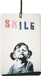 Banksy Smile Car Air Freshener