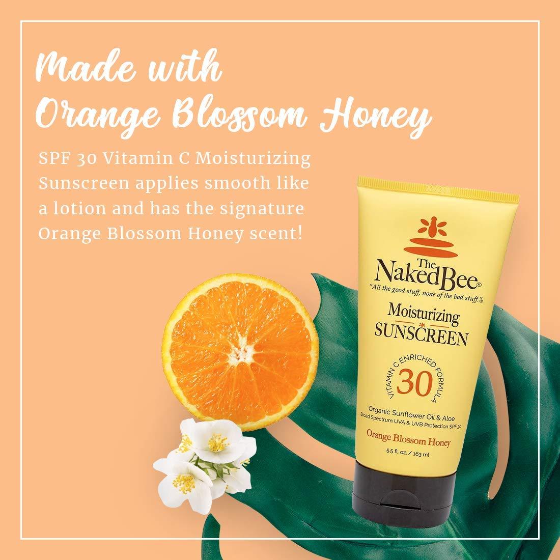 The Naked Bee Vitamin C Face & Body Moisturizing Sunscreen Spf 30 5.5 Oz