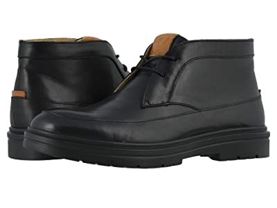 Stacy Adams Alcander Moc Toe Chukka Boot (Black) Men
