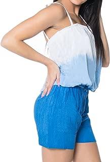 LA LEELA Women's Overalls Jumpsuits Casual Loose Fit Playsuit