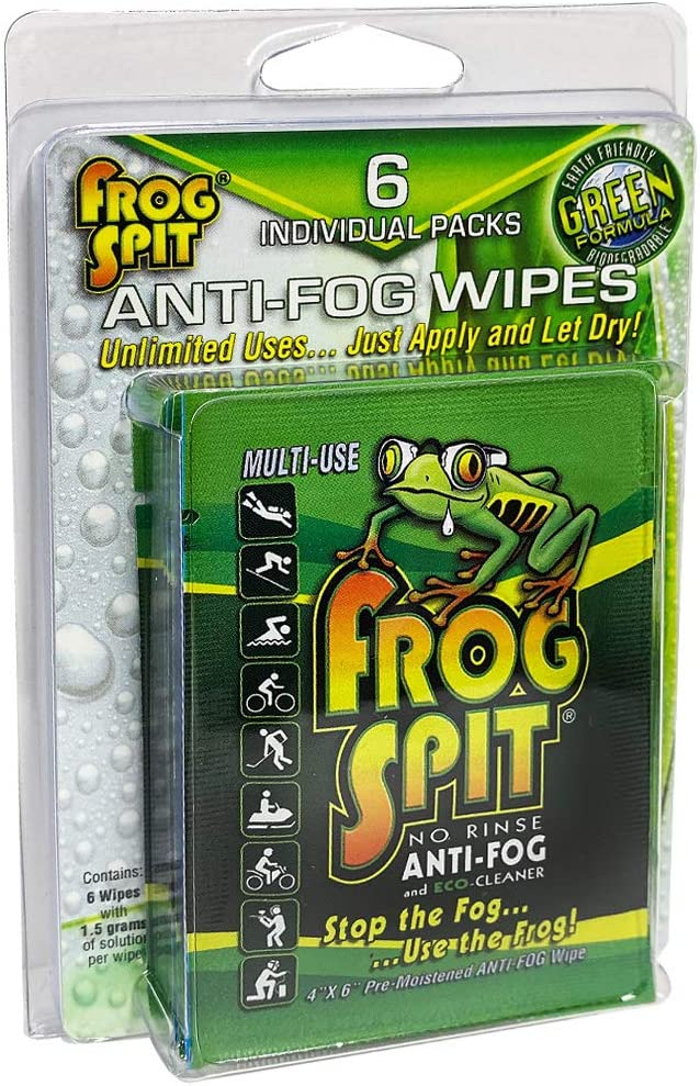 6 Pack of Frog Spit Fog Wipes Dealing full price reduction sold out Anti