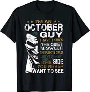october guy t shirt