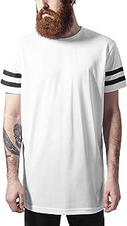 Urban Classics Stripe Mesh tee Camiseta para Hombre