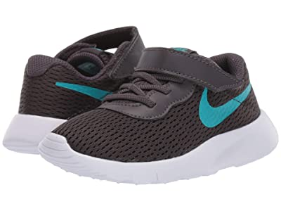 Nike Kids Tanjun (Infant/Toddler) (Thunder Grey/Teal Nebula) Boys Shoes