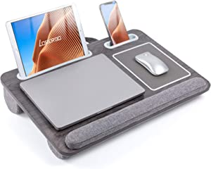 LORYERGO Laptop Lap Desk - Lap Desk Fits Up to 17