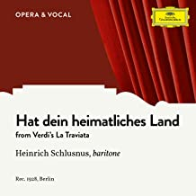 Verdi: La Traviata: Hat dein heimatliches Land (Sung in German)