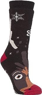 Mens Womens Thick Winter Thermal Christmas Anti Skid Slipper Socks