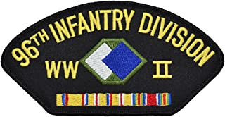 96th Infantry Division WWII Hat Patch