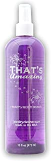 That's Amazing Jewelry & More Cleaner - Sparkling Gold, Silver, Platinum, Antique, Costume, Diamonds, Opals, Pearls, You Gotta See It to Believe It 16 Ounce (Spray Top)