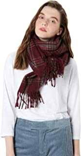 MaaMgic Womens Pashmina Shawls Wraps Warm Winter Scarfs Gift Reversible Soft Cashmere Feel Fall Scarf for Girls