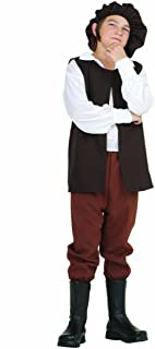 Child Economy Renaissance Boy Costume Peasant, Villager, Errand Boy