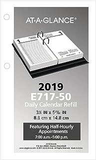 Best at a glance calendar 2019 refill Reviews
