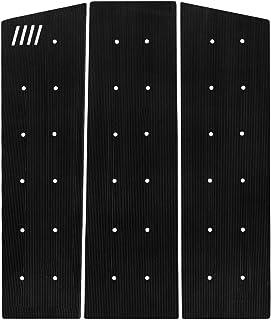 Slash Surfboard Traction Pad • 3 Piece Front Grip • Surfboard, Skimboard, Longboard Deck • Maximum Grip Stomp Pad • 3M Adhesive • Fits Surf, Skim Board, Long Deck, Wakesurf, Fish Boards