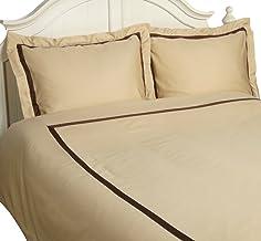 مجموعة أغطية لحاف كينج / كاليفورنيا كينغ من القطن بنسبة 100%، تشكيلة الفنادق، طبقة واحدة، مجموعة غطاء لحاف كينج / كاليفورن...
