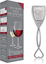 The Wand Wine Purifier (3-Pack)   No More Wine Headaches   Removes Histamines and Sulfites   With Twist-Off Wine Charms   Per-Glass