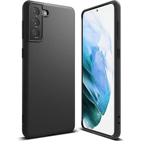 """Ringke Air-S Compatible con Funda Samsung Galaxy S21 Plus 5G (6.7"""") Ergonómico Resistente Impactos TPU Parachoques Protección - Black"""