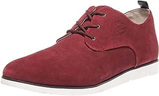 Manz Zapatos de negocios en tallas grandes rojo 104015-32-124 zapatos grandes para hombre
