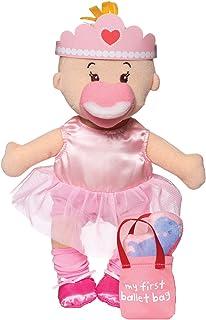 "Manhattan Toy Wee Baby Stella Tiny Ballerina 12"" Soft Baby Doll Set"