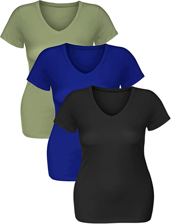 alisoso Geometric Graphic Short Sleeve Warm Colored Shapes Female T Shirt Short Sleeve