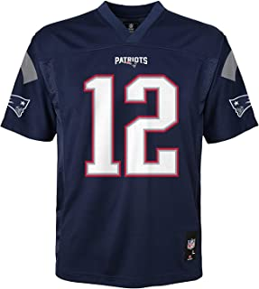 Tom Brady New England Patriots NFL Kids Navy Home Mid-Tier Jersey