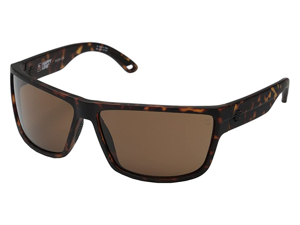 Spy Optic Rocky (Matte Camo Tort/Happy Bronze) Fashion Sunglasses