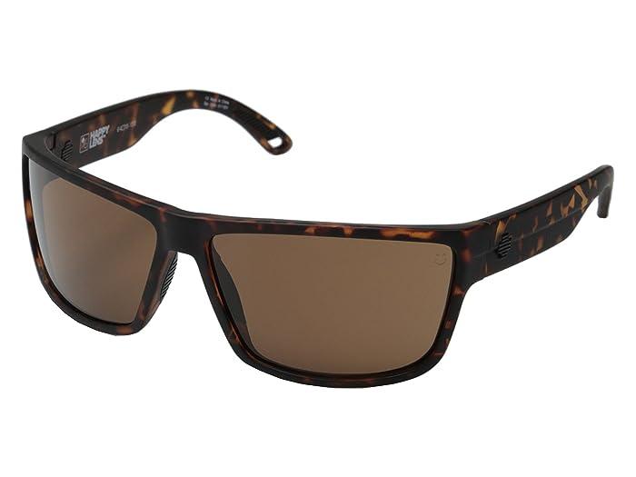 Spy Optic Rocky (Matte Camo Tort/Happy Bronze) Fashion Sunglasses