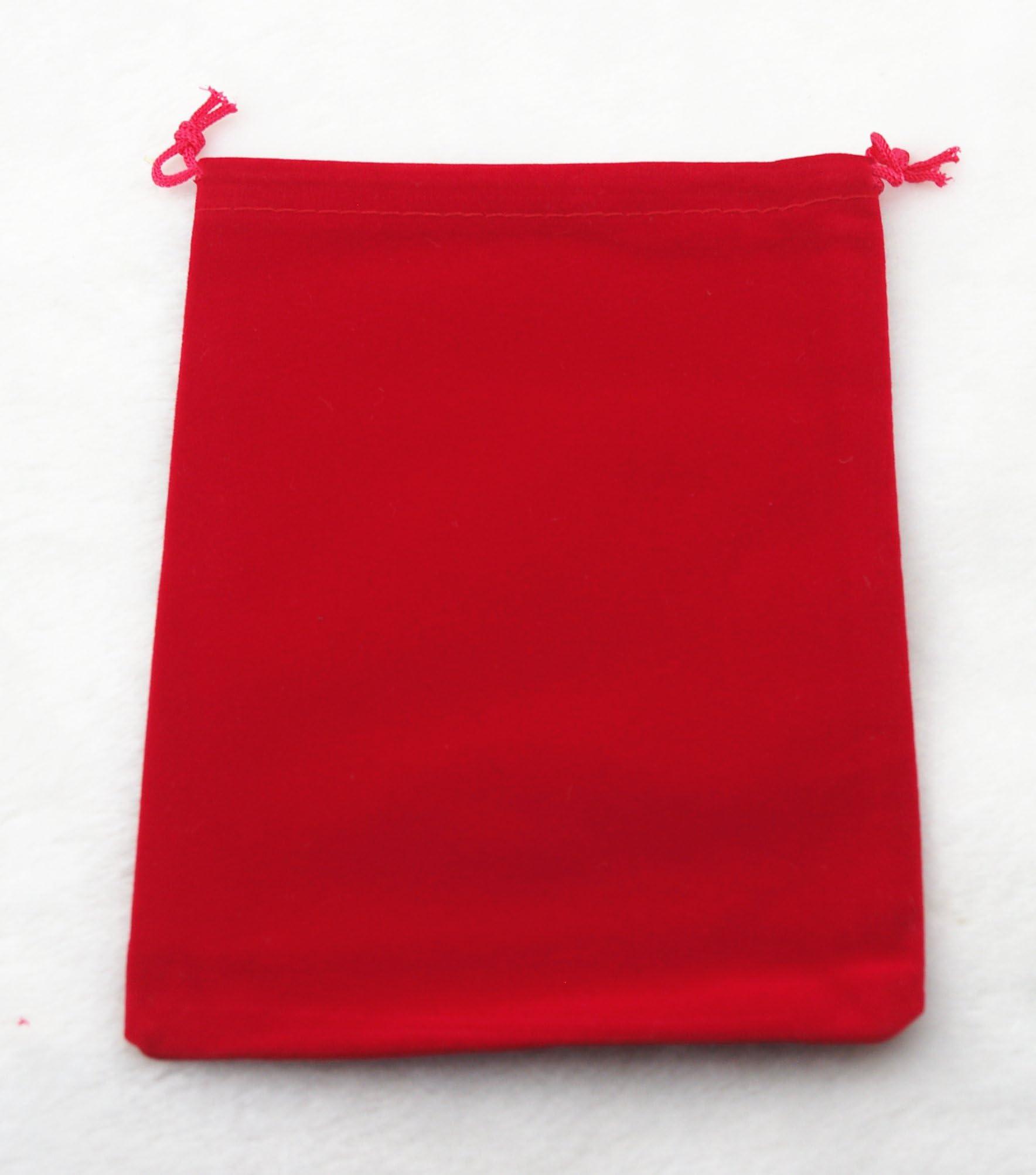 10pcs Velvet Jewelry Pouches Velvet Bags Jewelry Wedding Favor Velvet Gift Bags