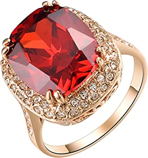Best red gold ring Reviews
