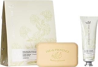 Pre de Provence Gift Set Collection 150 Gram Soap Bar & 1 fl oz Hand Cream, Verbena