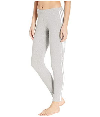adidas Originals Trefoil Tights (Medium Grey Heather) Women