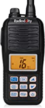 Radioddity Voyage RV6 VHF Marine Radio Handheld Floating Tri-Watch, IP67 Waterproof, NOAA Weather Alert, Emergency Strobe LED