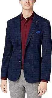 Mens Slim-Fit Two Button Blazer Jacket