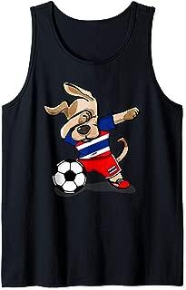 Funny Dabbing Dog Thailand Soccer Jersey Thai Football Team Tank Top