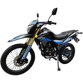 X-Pro Hawk DLX 250 EFI Fuel Injection 250cc Endure Dirt Bike Motorcycle Bike Hawk Deluxe Dirt Bike Street Bike Motorcycle,Blue