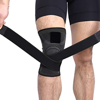 Conbo Knee Brace Compression Knee Sleeve for Men & Women Knee Support/Protection for Joint Pain Relief and Arthritis Relie...