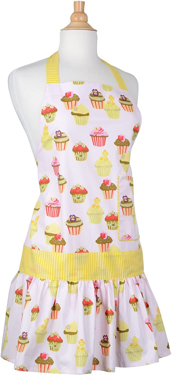 Flirty Aprons Women's Sadie Frosted Cupcake Apron